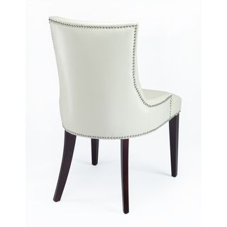 @Overstock   Becca Chair Comes In A Classical Contemporary Style That Works  With A Wide. Leather Dining ChairsRoom ...