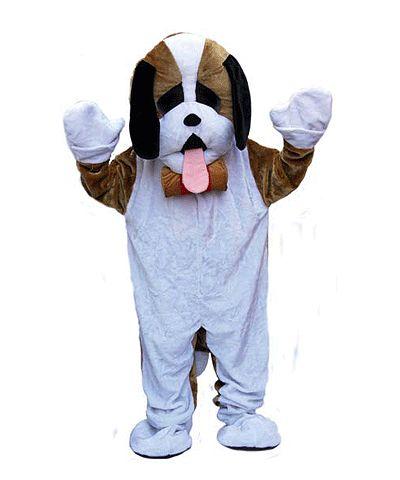 Pluche hond kostuum voor volwassenen. Luxe honden kostuum van pluche materiaal. Het kostuum is one size only en alleen geschikt voor volwassenen.