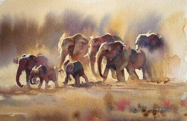 Hazel Soan / ImpressioniArtistiche #watercolor jd