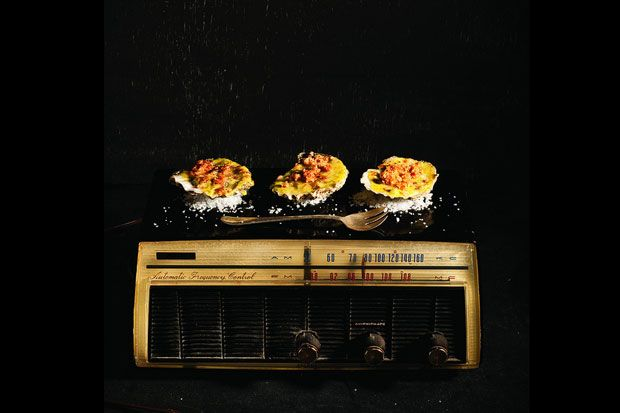 Had one of the best meals of my life there.....  Joe Beef's Hot Oysters on the Radio on Food52: http://f52.co/1eaHkFm #Food52