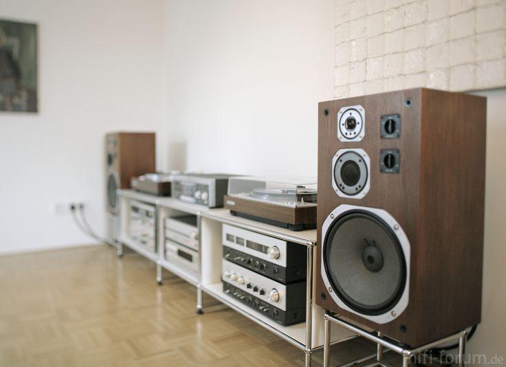 Vintage Hifi 1 | audio, audio klassiker, cassette, cd player, chrom, chrome…