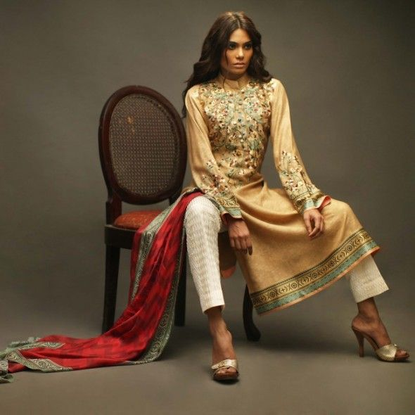 Sania Maskatiya barr-e-sagheer Eid Collection 2014 Please Pin it