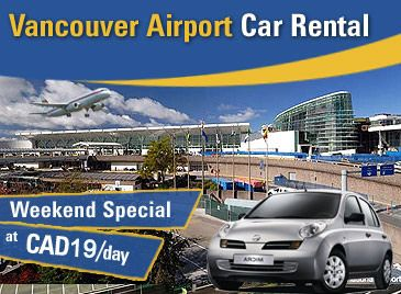 Exclusive Vancouver Airport car rental deals with us as we have friendly tie-ups with top car suppliers.