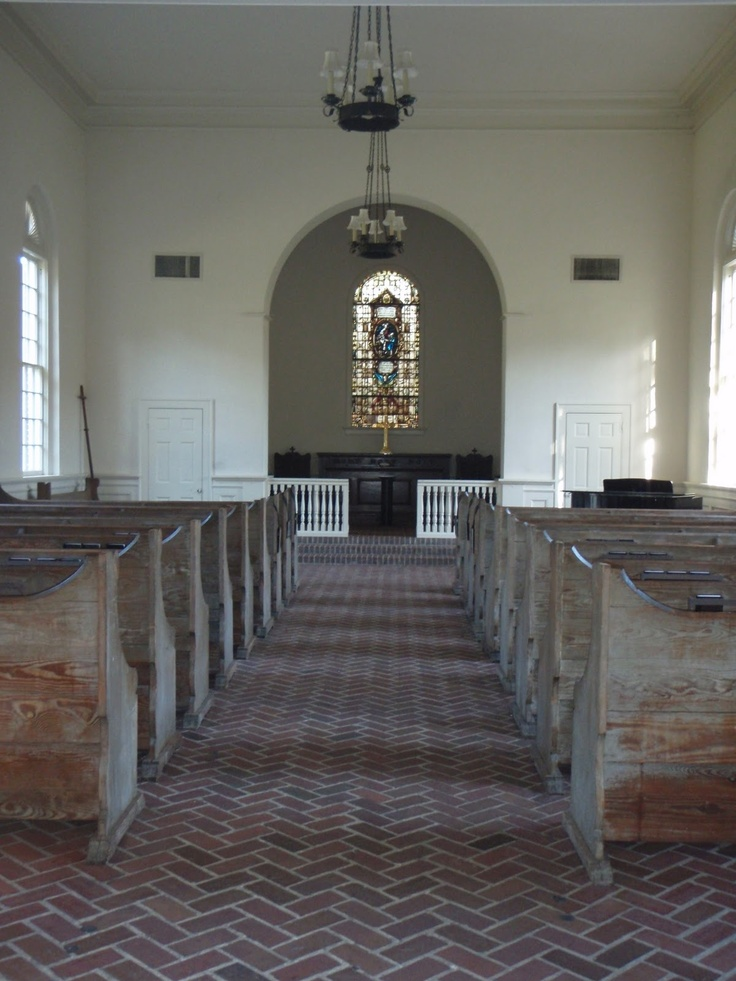 Whitefield Chapel At Bethesda Academy Interior