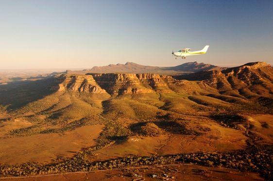 Flinders Ranges by air