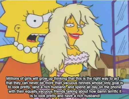 16 Times The Simpsons Gave You Material For Your Gender Studies Midterm - BuzzFeed Mobile