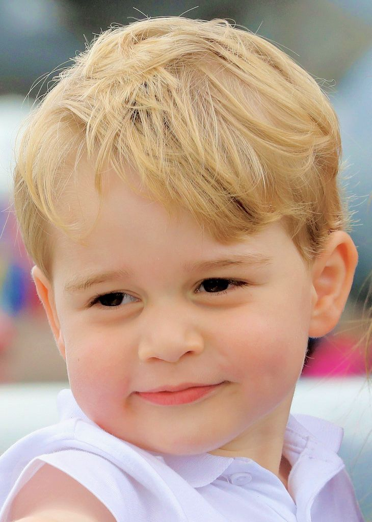 .............FUTURE KING OF ENGLAND......GEORGE ...(BEAUTIFUL BOY)................ccp