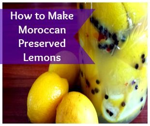 Preserved lemons, Lemon and How to make on Pinterest