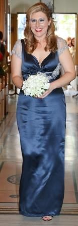 My Vellos Maid of Honour Gown