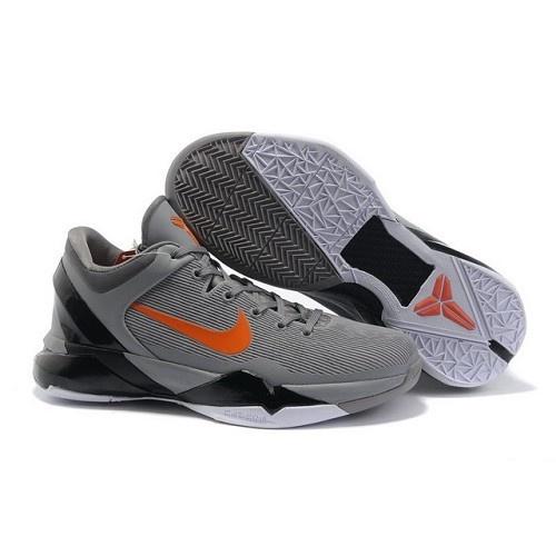 Air Foamposite Nike Zoom Kobe 7 Wolf Grey Total Orange Black White [Nike  Zoom Kobe 7 - This Nike Zoom Kobe 7 Wolf Grey Total Orange Black White  sports ...