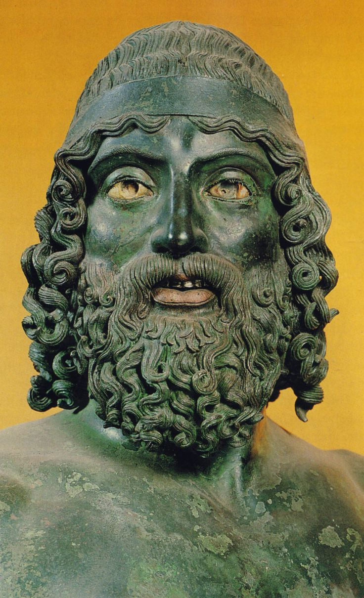 After five years in storage, the Riace Bronzes are back on display at the Museo Archeologico di Reggio Calabria. The museum's renovation, however, is ongoing. Made in Greece around 450 BCE, the bronzes were exported to the Italian peninsula but never arrived at their destination. Their loss at sea proved to be a boon for classical archaeology, as they are rare survivors of a medium known to have dominated ancient visual culture.