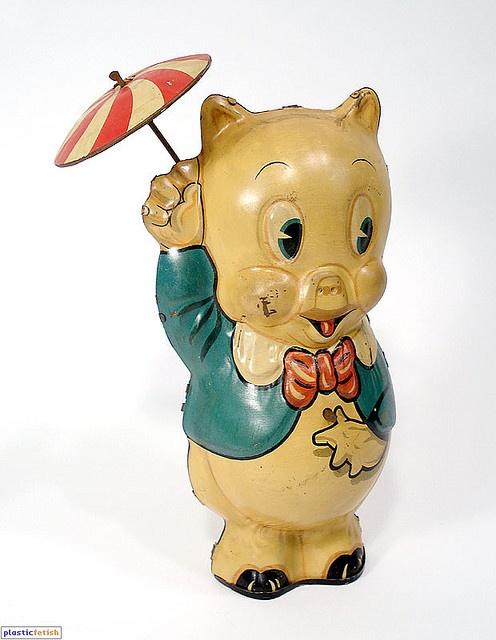 vintage tin toy | Random