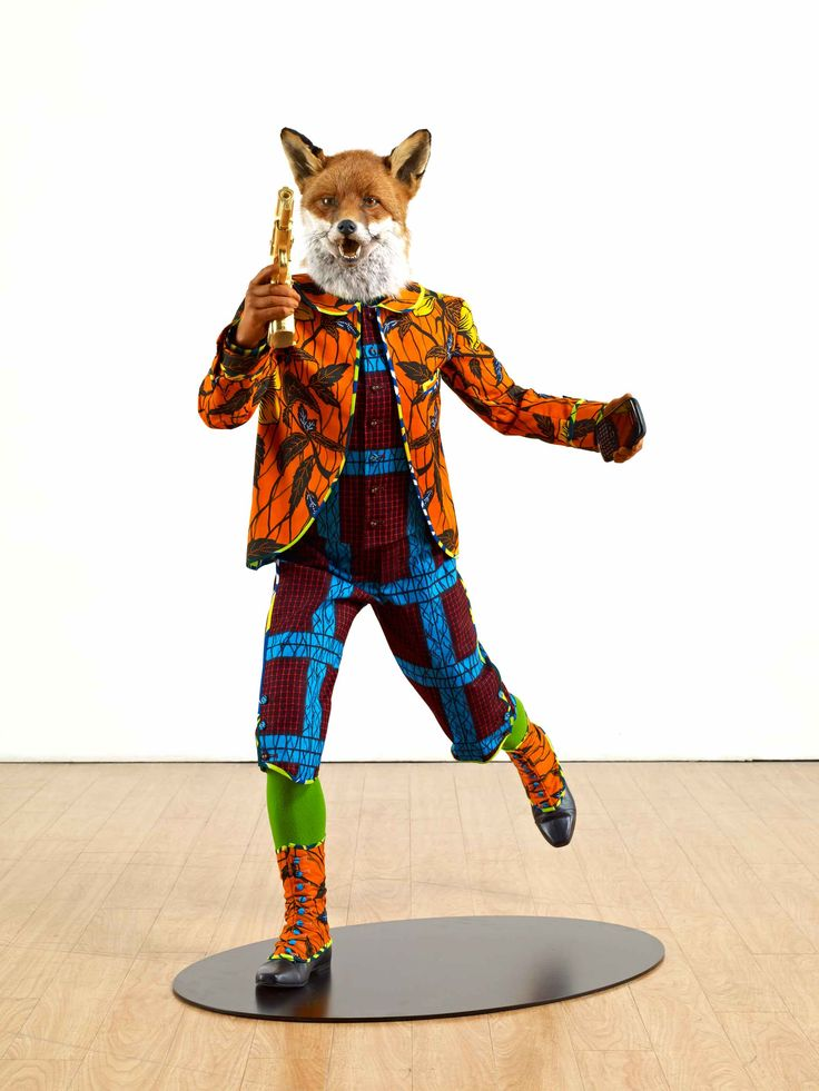 Yinka Shonibare - Revolution Kid (Fox) (2012) | collection museum Beelden aan Zee