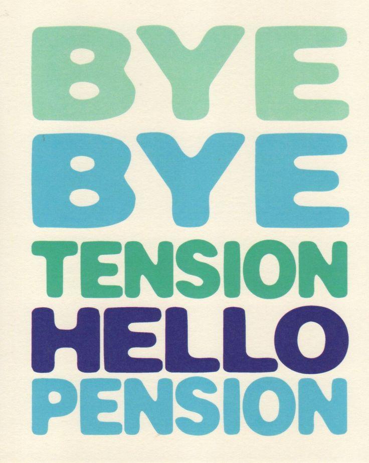 Retirement Card - Brilliant!