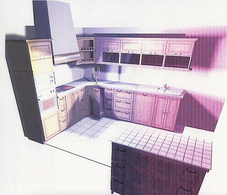 3д кухня