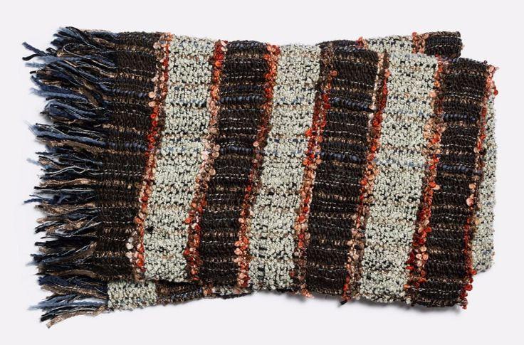 Loloi Demi Brown Throw Blanket