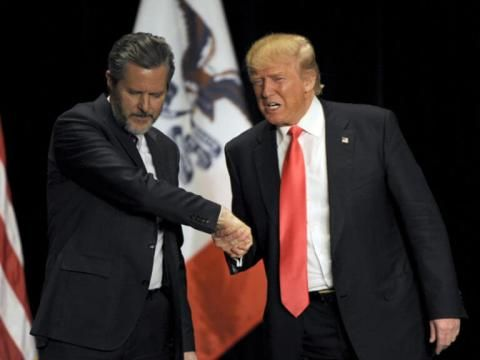 Jerry Falwell Jr. Accepts Advisory Position from Trump, Will 'Influence Education Policy' | Sojourners
