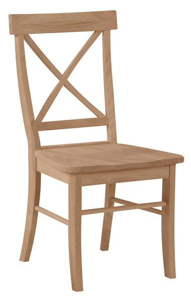 Parawood X Back Chair | Bare Woods Furniture | Real Wood Furniture Finished Your Way