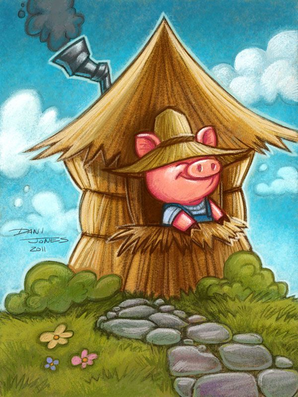 Little Pig iPad painting by *DaniDraws on deviantART