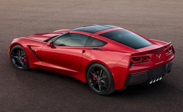 The all new 2014 Chevrolet Corvette Stingray. Wow.