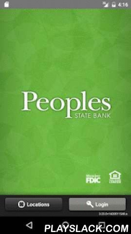 Peoples State Bank - Mobile  Android App - playslack.com ,  See the potential of banking on the go. Check your current account balances and recent transactions 24-hours a day, from wherever you happen to be (provided you're within cell/wifi range), simply by using this app on your Mobile Phone.• Check balances• Transfer funds• Pay billsMobile banking from Peoples is FREE*, fast, simple, secure, and allows you to keep up-to-date with your Peoples accounts from anywhere; the park, your…