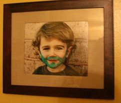 This post had some of the best St. Patrick's ideas I've seen- using dry erase markers on family photos, coloring the kids' toenails while they slept, hiding a little leprechaun hat for them to find, leaving a note on the mirror from the leprechaun, dyeing your eggs green- like easter eggs- which is a whole lot more appetizing than eating green scrambled eggs, etc.