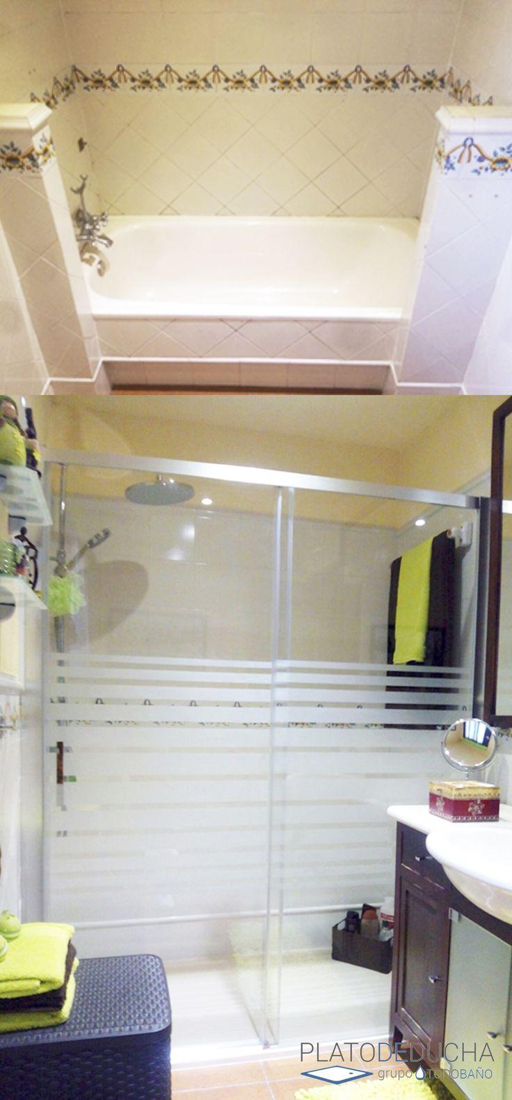 Baño Ducha Banera Pequena Idea:de 1000 ideas sobre Pequeñas Duchas De Baño en Pinterest