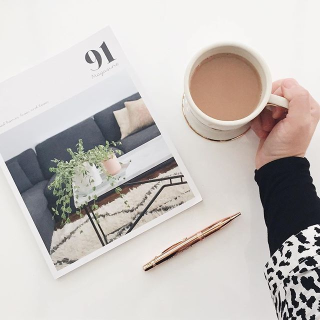 It's been 2 months since our A/W issue published & we truly love when we see images of you enjoying the mag at home or out and about using our #my91magazine tag. We've shared a few of our faves over on the blog today. We still have some copies left so make sure you treat yourself or a friend to one before they go! This shot is by @tinkertailoronline - thanks for sharing! 😘