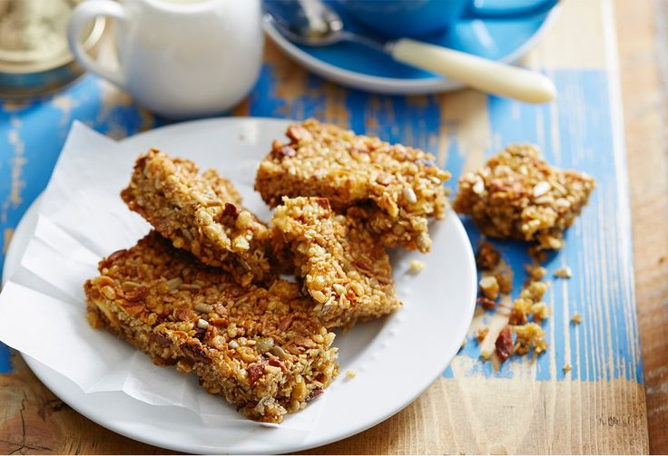 Perfect for breakfast in hurry, these bars also make great lunchbox items