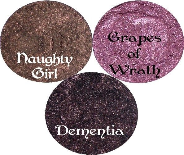 Get the Look 3 Piece Purple Eyeshadow Stack Smoky shades by SpectrumCosmetic on Etsy https://www.etsy.com/listing/64434229/get-the-look-3-piece-purple-eyeshadow
