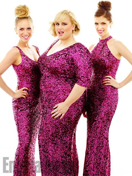 Brittany Snow, Rebel Wilson, and Anna Kendrick sparkle in our photo shoot. More 'Pitch Perfect 2' scoop in this week's issue.