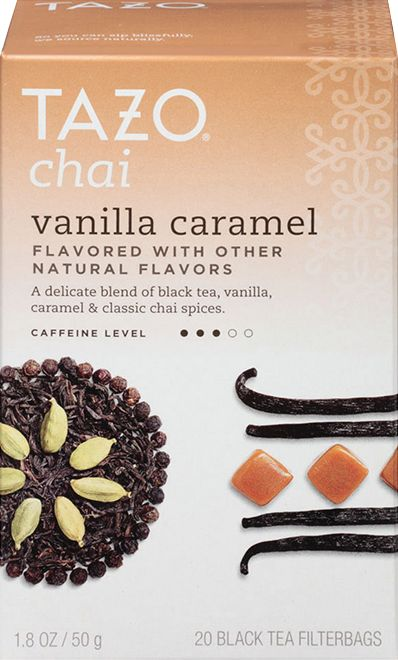 I received a free sample of Tazo Chai teas from Simley360.  Chai Vanilla Caramel was my favorite.  Make sure you try some too!