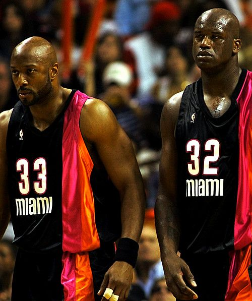 Alonzo Mourning & Shaquille O'neal