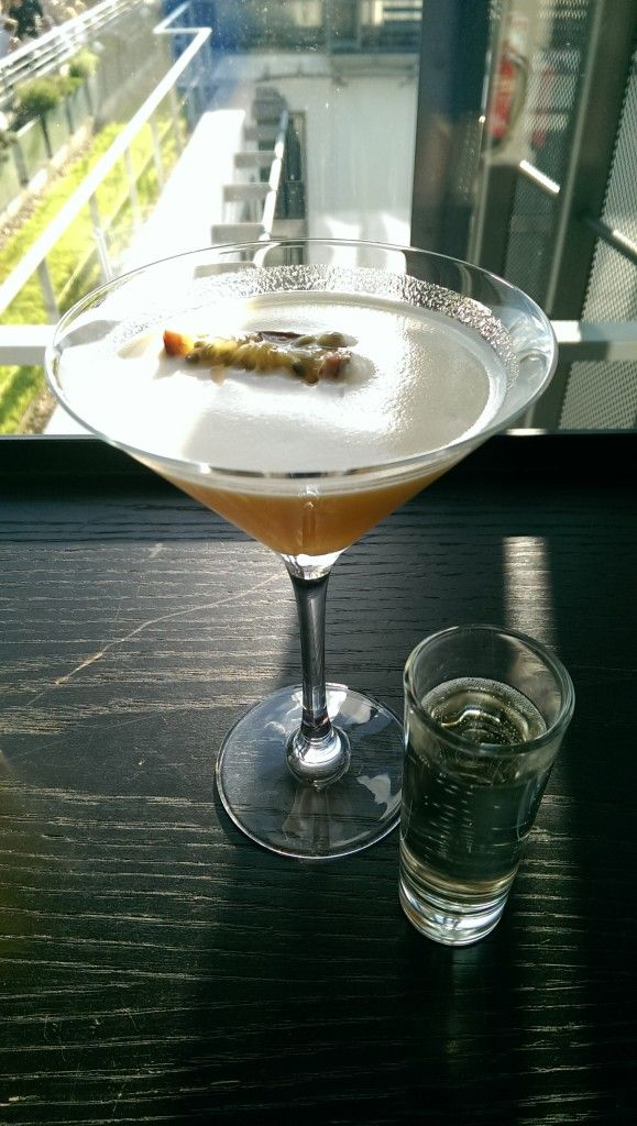 Porn star martini at Skylounge at DoubleTree by Hilton Hotel London - Tower of London