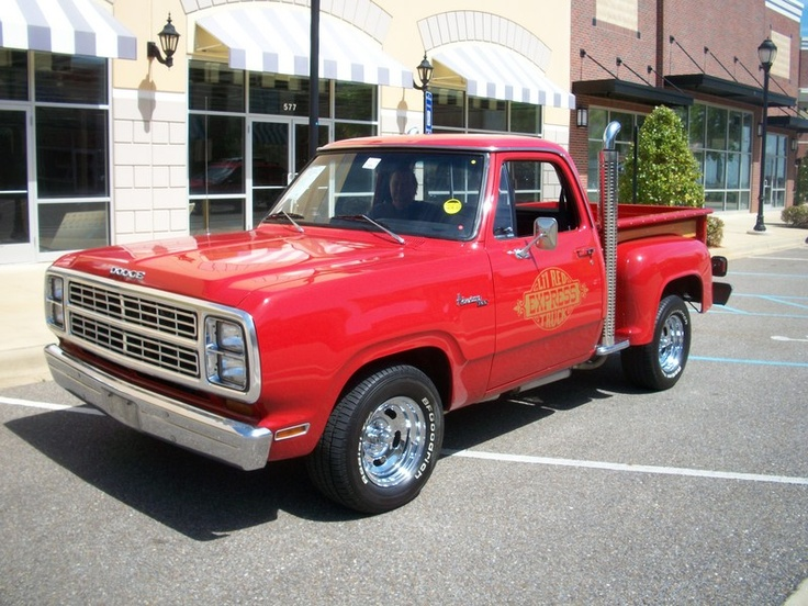 1979 dodge lil red express truck cool classics. Black Bedroom Furniture Sets. Home Design Ideas