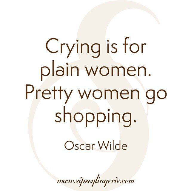 Daily inspiration from @sipseylingerie #wotd #quoteoftheday #shopping #prettygirls #inspiration #motivation #quote #oscarwilde