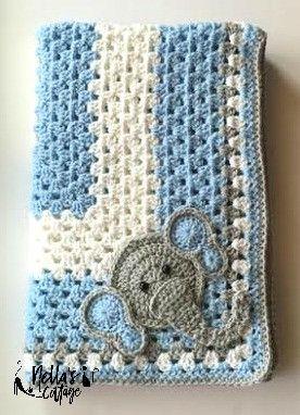 Baby Elephant Blanket More