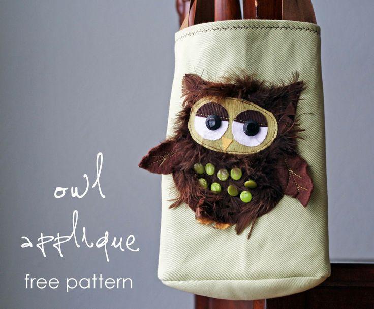 owl applique from ://projectsbyjess.blogspot.it/2011/01 & 25+ unique Owl applique ideas on Pinterest   Owl templates Owl ... pillowsntoast.com