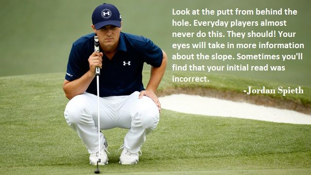 Curious about why Jordan Spieth is such a good putter? Here's a bit of advice…