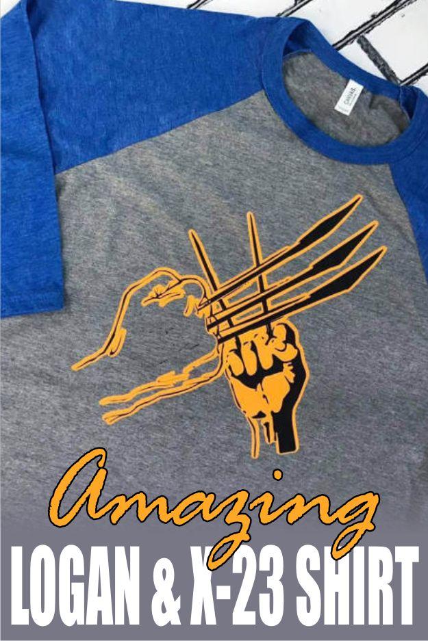 Logan X-23 shirt -  Wolverine - Logan and Laura - X-Men shirt - nerdy shirt - comicbook -  comics - XMen - Wolverine shirt - Marvel shirt  #ad