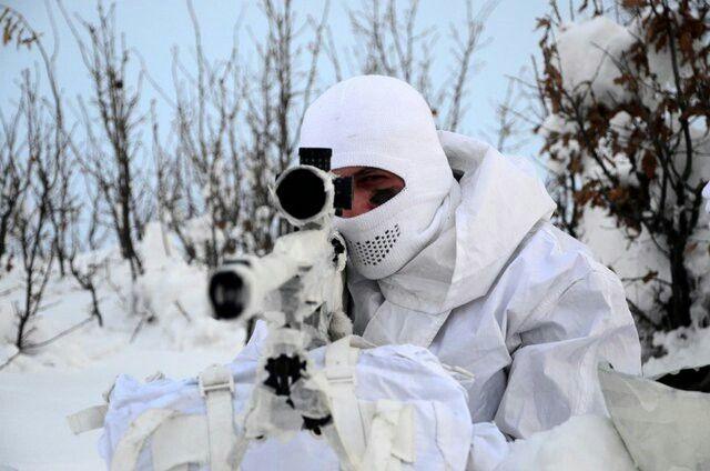 Turkey Mountain Commando ~{ Commando Turkey }~ and Turkey National Expert Sniper Rifle (JNG-90) JMK BORA-12