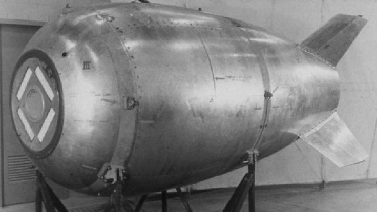 """The Royal Canadian Navy is sending a ship to determine if a diver has discovered """"the lost nuke"""" — a Mark IV bomb that went missing after a U.S. bomber crashed off B.C.'s North Coast in the early days of the Cold War."""