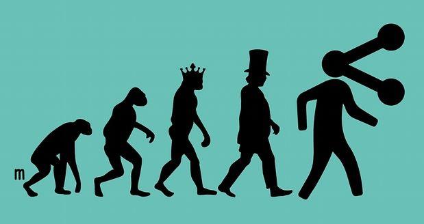 Postcapitalism evolution. Illustration by Joe Magee: Illustration, Book