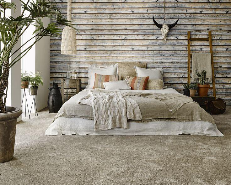 A rustic bedroom for those who dream of the great wide open might look tough but #floors are super soft with @Desso Home Touch. Kom langs bij onze winkel in Rijswijk om de mogelijkheden te bekijken!