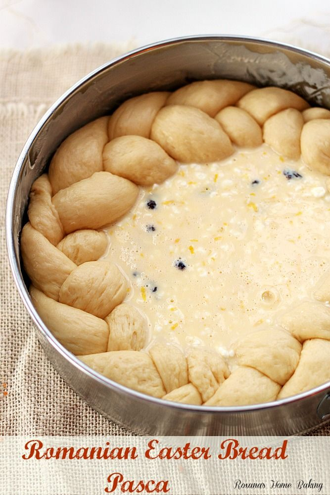 Pasca - Romanian Easter bread recipe