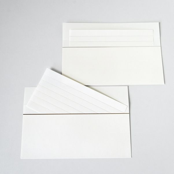 印刷加工連 封筒 - dressense