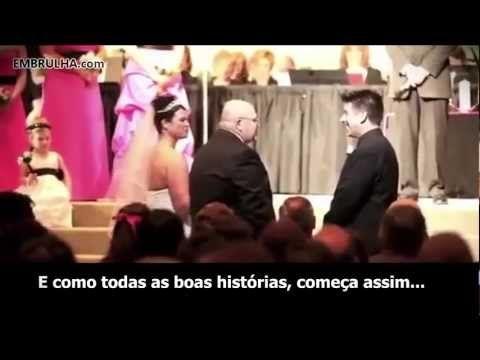 Discurso emocionante de pai durante o casamento da filha