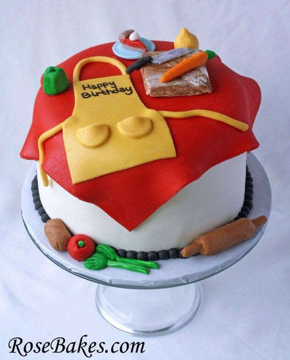 A Birthday Cake for a Chef, Cook, Baker, etc!