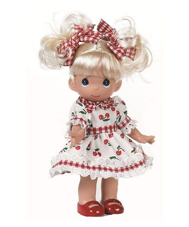 Look what I found on #zulily! Cherry Blossoms Precious Moments Doll by Precious Moments #zulilyfinds $14.99