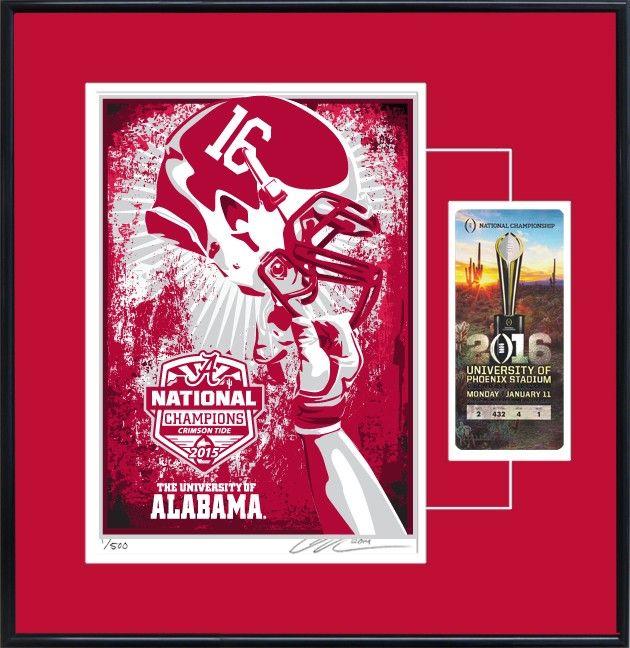 The University of Alabama's National Championship 2016